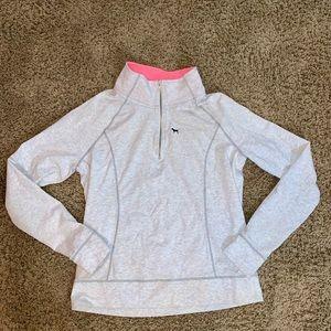 Pink Victoria's Secret pullover sweatshirt logo l